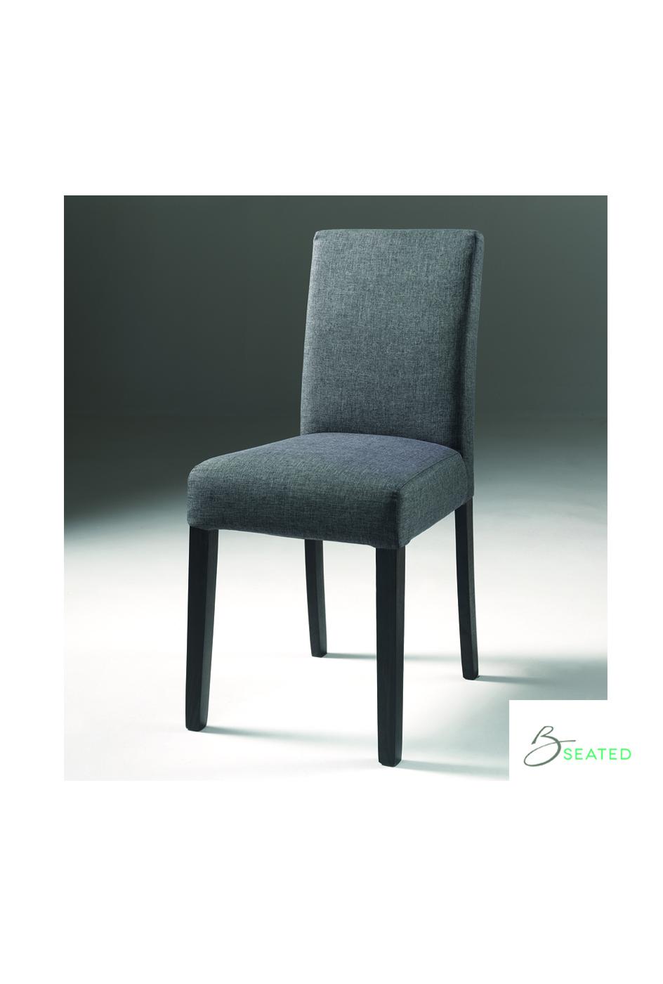 Max stoel savana grijs - Linnen stoel ...
