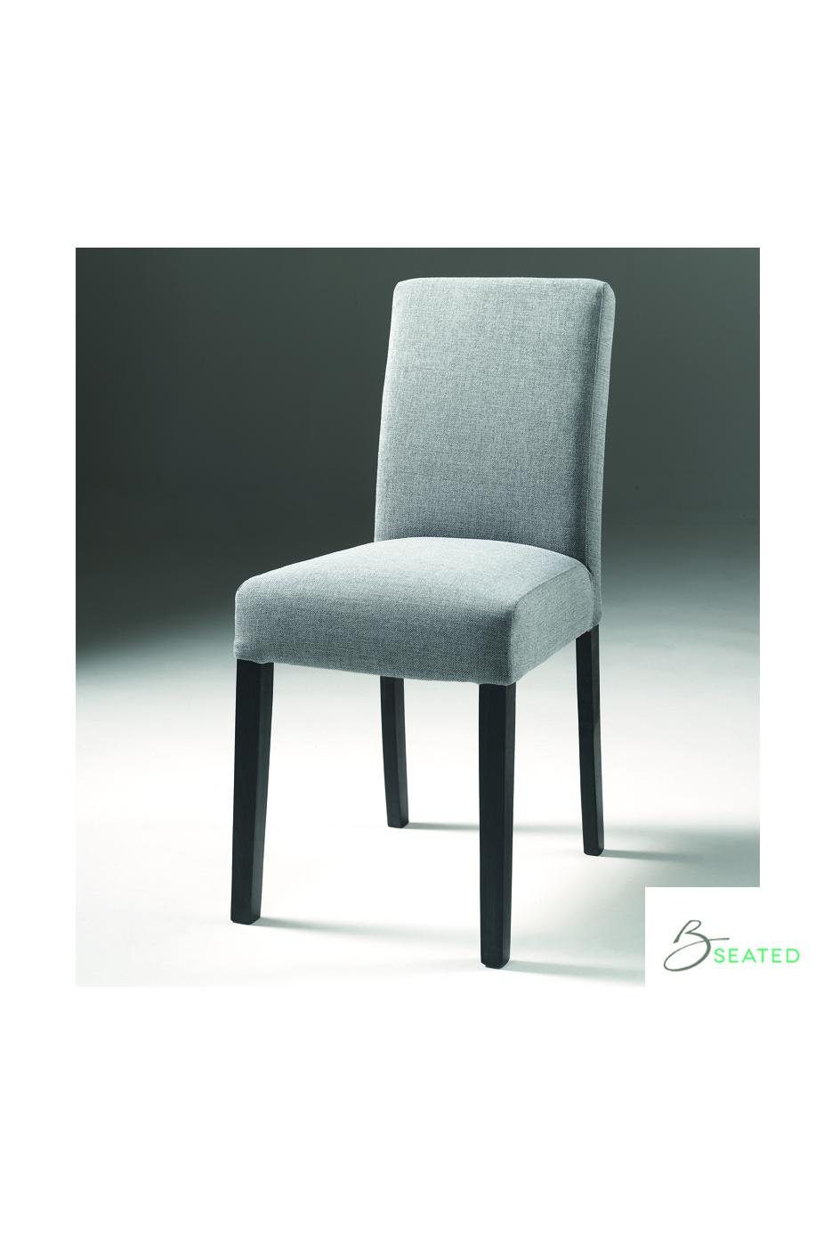 Max stoel inari grijs - Linnen stoel ...