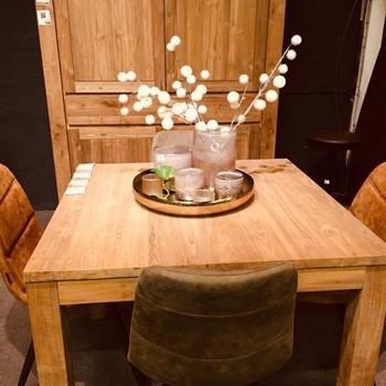 Milaan tafel vierkant 120cm
