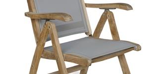 Giardino Gili verstelbare stoel