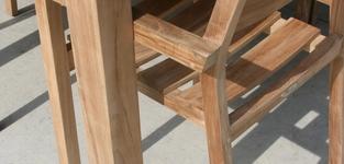 NATUREL tafel 240 + 6 NATUREL st stoelen