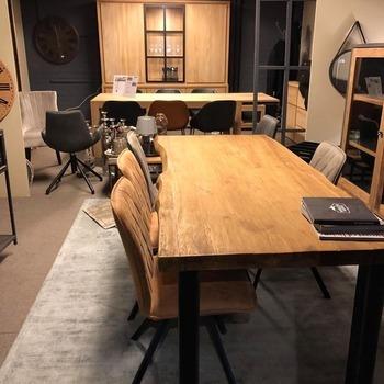 LIVE EDGE tafel 250x100
