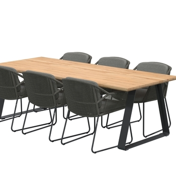 ACCOR stoel - Mid grey