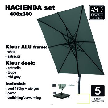 """Set """"Hacienda parasol"""" 180"""