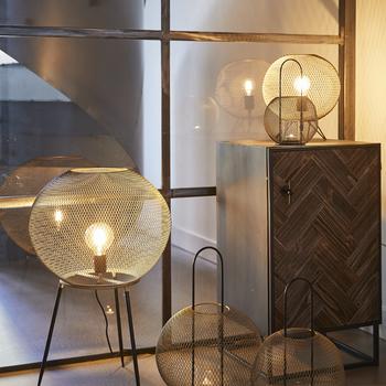 Staande lamp Pure goud 75cm