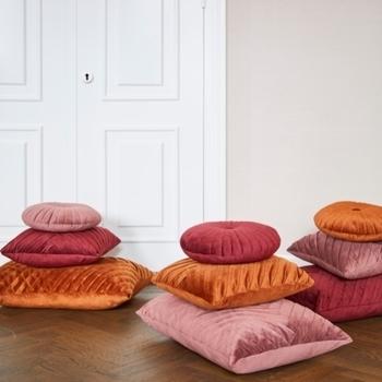 Kussen eve oud roze 45x45 cm