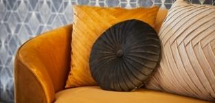 Kussen Elja goud 50x70 cm