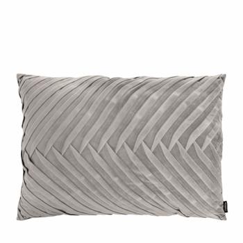 Kussen Elja licht grijs 50x70 cm