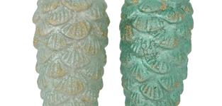 Dennenappel groen Patira 16cm