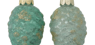 Dennenappel groen Patira 6,5cm