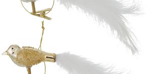 Lorena vogel goud 16cm