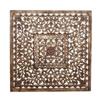 Oville Gold antique MDF square hip wall panel