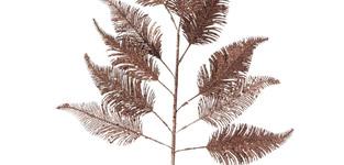 decotak kerst blad groot - bordeau