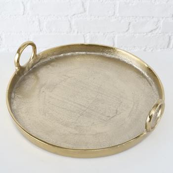 Schaal Becca 38cm - goud