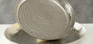 Schaal Selina 49cm - zilver