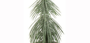 Dennenboom In Pot Plastiek Groen