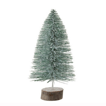 Kerstboom Deco Glitter Licht Groen Medium