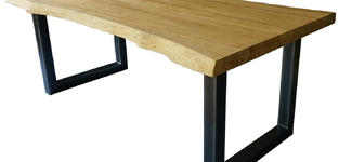 LIVE EDGE tafel 200x90