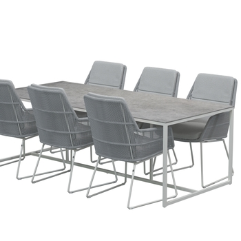 VALENCIA chair - Platinum