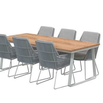 VALENCIA chair - Platinum