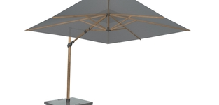 "Set ""Siesta premium parasol"" 180 WOODLOOK"