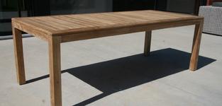 Recta tafel 220 + 6 arcandra stapelstoel