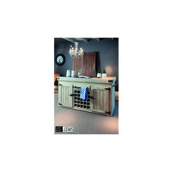 Keukenblok groot Old pine grey wash - KITCH BL2