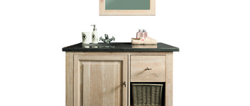 Badkamer wash table white wash oak - BATH 021W