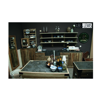 Keuken unit elm natural with stone top - KITCH 02A