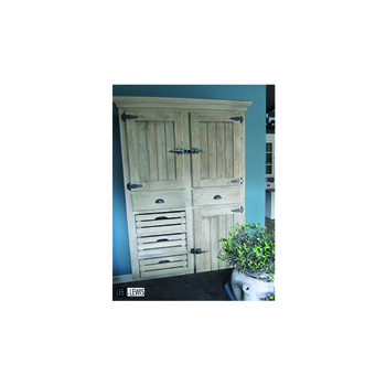 Keuken cabinet old pine olive green - KITCH BL3
