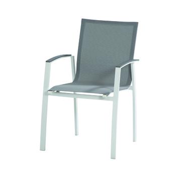 TORINO stapelstoel - wit